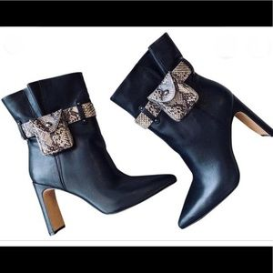 Jessica Simpson Brynne Ankle Boots Black NEW